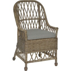 East at Main's Monika Rattan Dining Chair found on Bargain Bro India from Gilt for $379.99