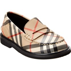 Burberry Vintage Check Leather Loafer found on Bargain Bro India from Ruelala for $149.99
