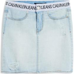 Calvin Klein Logo Waistband Denim Skirt found on Bargain Bro India from Gilt for $15.99