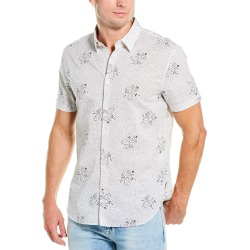 John Varvatos Star U.S.A. Printed Woven Shirt found on MODAPINS from Gilt for USD $49.99