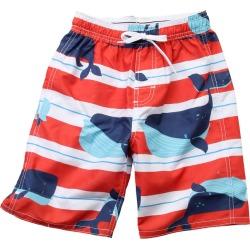 Wes Willy Whale Strip Swim Trunk T-Shirt