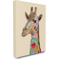 Stupell Giraffe with Rainbow Colored Spots Illustration found on Bargain Bro Philippines from Ruelala for $49.99
