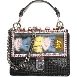 Gedebe Multicolor Leather & Crystal Forever Bag NM, Never Carried found on MODAPINS from Gilt for USD $350.00