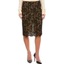 Michael Kors Collection Silk-Trim Pencil Skirt found on Bargain Bro India from Gilt City for $229.99