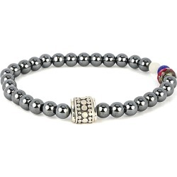 Dell Arte Silver Gemstone Crystal American Pride Stretch Bracelet found on Bargain Bro Philippines from Gilt for $28.99