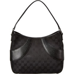 Gucci Black GG Canvas & Leather Signature Shoulder Bag found on Bargain Bro Philippines from Gilt for $600.00