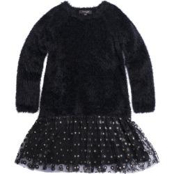 IMOGA Sweater & Mesh Dress