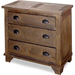 Progressive Furniture Industrial Chest - Pine Cone