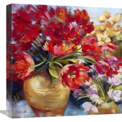 Global Gallery Tulip Firework by Nel Whatmore found on Bargain Bro Philippines from Gilt City for $99.99