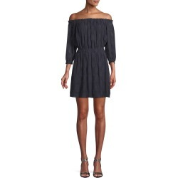Rebecca Taylor Off-the-Shoulder Popover Dress found on Bargain Bro India from Ruelala for $115.99