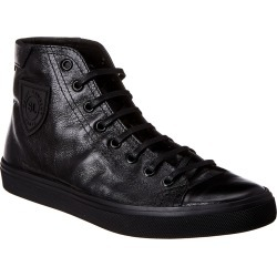 Saint Laurent Bedford High Top Leather Sneaker found on Bargain Bro India from Ruelala for $399.00