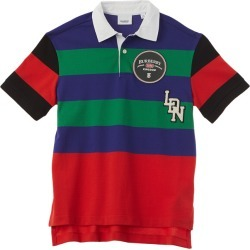 Burberry Logo Detail Striped Polo found on Bargain Bro India from Gilt for $139.99
