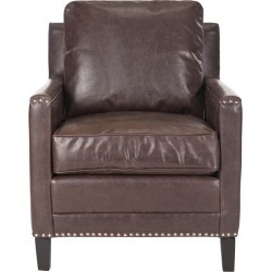Safavieh Buckler Club Chair - Silver Nail Heads found on Bargain Bro India from Gilt City for $529.99