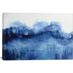 iCanvas Arctic In Blue by KR Moehr Canvas Print found on Bargain Bro Philippines from Gilt City for $49.99