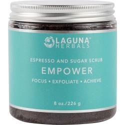 Laguna Herbals 8oz Empower Espresso And Sugar Scrub