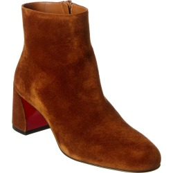 Christian Louboutin Turela 55 Suede Bootie found on Bargain Bro Philippines from Gilt for $889.99