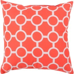 Surya Rain Printed Indoor/Outdoor Pillow found on Bargain Bro India from Gilt for $42.00