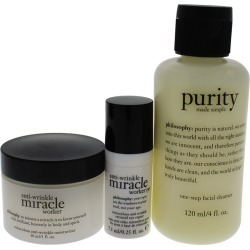 Philosophy 3pc Goodbye Wrinkles Trial Set