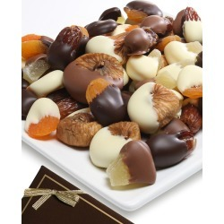 Chocolate Covered Company 1lb Mixed Belgian Chocolate Dipped Dried Fruit Assortment
