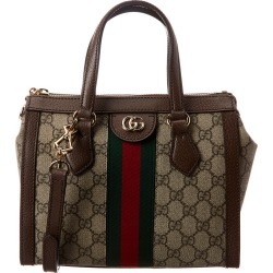 Gucci Ophidia Small GG Supreme Canvas & Leather Tote found on Bargain Bro India from Gilt for $1499.99