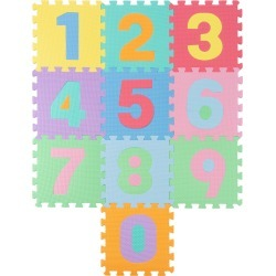 Trademark Foam Number Crawling Mat found on Bargain Bro India from Ruelala for $17.99
