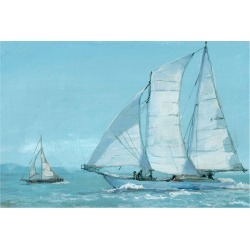 Marmont Hill Sailing Boat found on Bargain Bro Philippines from Gilt for $79.99