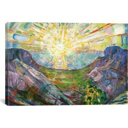iCanvas The Sun, 1916 #2 by Edvard Munch found on Bargain Bro India from Gilt for $199.99