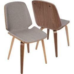 Lumisource Set of 2 Serena Chairs