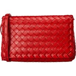 Bottega Veneta Iconic Intrecciato Leather Shoulder Bag