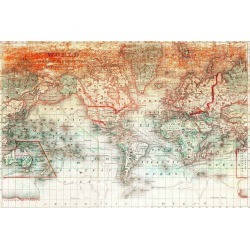 Marmont Hill Planet Earth Canvas Print found on Bargain Bro Philippines from Gilt for $225.99