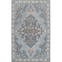 Rizzy Resonant Hand-Tufted Rug found on Bargain Bro India from Gilt City for $19.99
