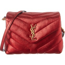 Saint Laurent Toy LouLou Metallic Matelasse Y Leather Crossbody found on Bargain Bro India from Gilt City for $1999.99