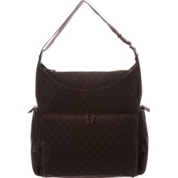 Gucci Black GG Denim & Leather Shoulder Bag found on MODAPINS from Gilt City for USD $700.00