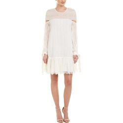 Jonathan Simkhai Embroidered Chiffon Shift Dress found on Bargain Bro India from Ruelala for $149.99