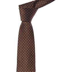Canali Brown Squares Silk Tie found on MODAPINS from Gilt for USD $99.99