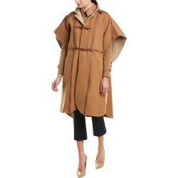 Burberry Harness Wool-Blend Cape found on Bargain Bro from Ruelala for USD $957.59