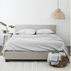 Home Collection Premium Ultra Soft Polaris Pattern 4pc Bed Sheet Set found on Bargain Bro Philippines from Ruelala for $22.99