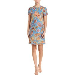 Valentino Geometric Silk-Lined Shift Dress found on Bargain Bro India from Ruelala for $649.99