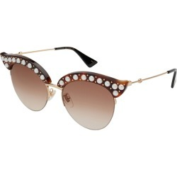 Gucci Women's GG0212S 002 53mm Sunglasses found on MODAPINS from Gilt City for USD $499.99