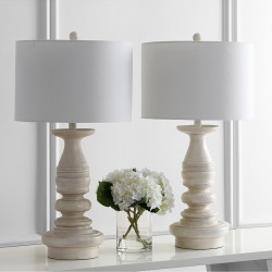 Safavieh Jareth Set of 2 Table Lamps found on Bargain Bro from Gilt City for USD $159.59