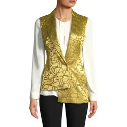 Akris Geometric Print Vest found on MODAPINS from Gilt City for USD $329.99