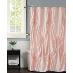 Christian Siriano Greorgia Rouched Shower Curtain found on Bargain Bro India from Gilt City for $49.99
