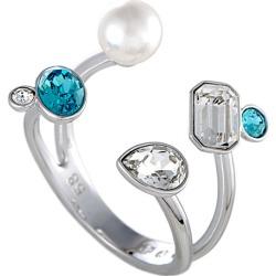 Swarovski Crystal Plated Pearl Ring