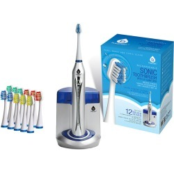 Pursonic S450 Deluxe Plus Rechargeable Sonic Electric Toothbrush w/ UV Sanitizer found on Bargain Bro from Gilt City for USD $37.99