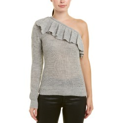Rebecca Taylor One-Shoulder Alpaca & Wool-Blend Sweater found on Bargain Bro India from Gilt for $29.00
