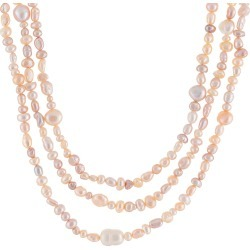 Splendid Pearls 4-9mm Pearl 72in Necklace found on Bargain Bro India from Gilt for $29.99