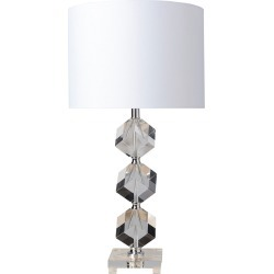 Surya Triton White Table Lamp found on Bargain Bro India from Gilt for $179.99