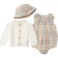 Burberry 3pc Vintage Check Baby Gift Set found on Bargain Bro India from Ruelala for $339.99