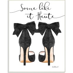 Stupell Some Like It Haute Black Pumps Heels by Amanda Greenwood found on Bargain Bro Philippines from Gilt City for $25.99