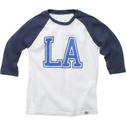 Wes Willy LA 3/4 Sleeve Blend Slub Raglan Shirt